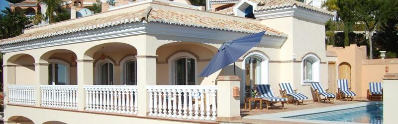 Our big and very nice villa decorated to a high standard, with pool and near the beach